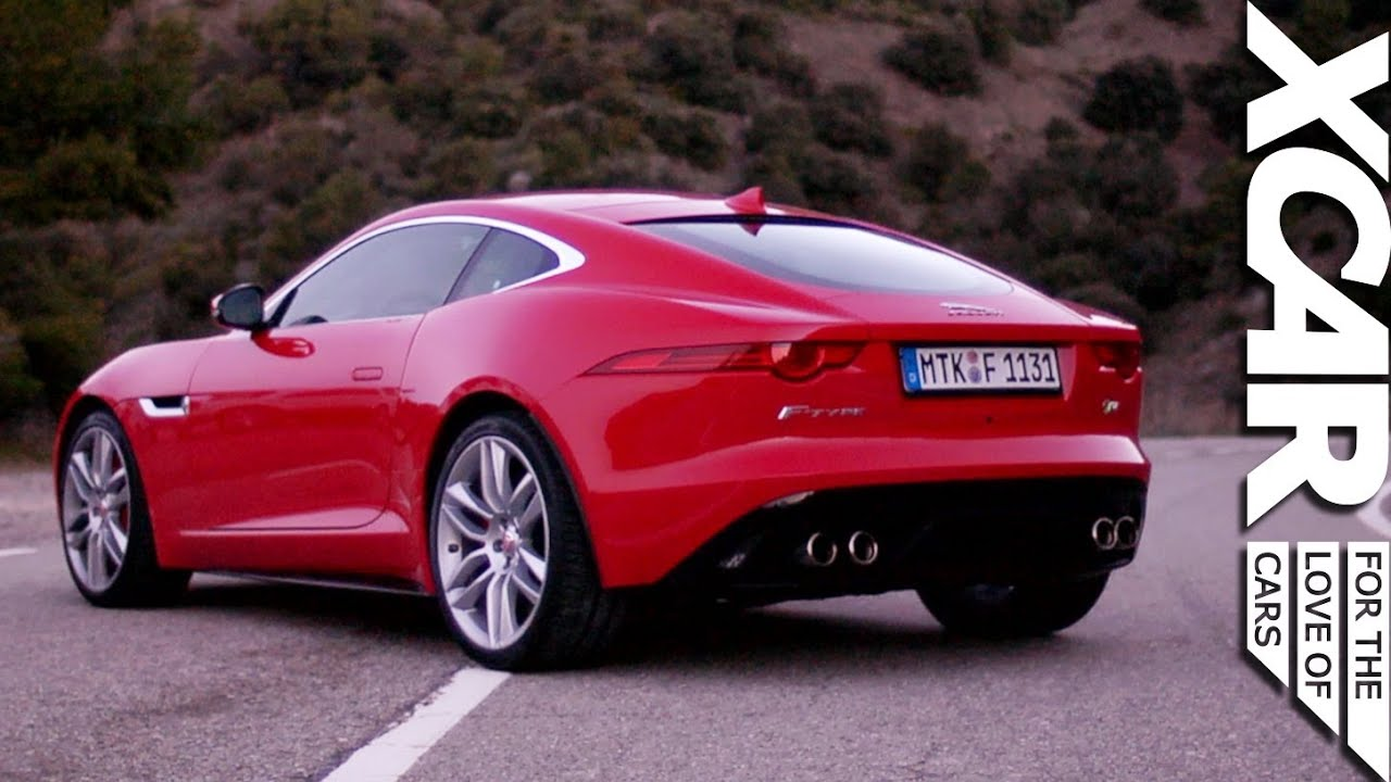 F Type Coupe >> Jaguar F-Type R Coupe Review - XCAR - YouTube