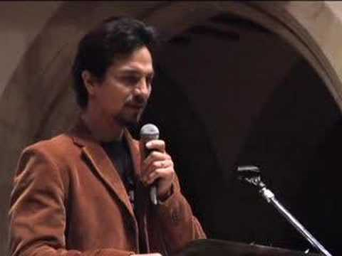 Benjamin Bratt reads from the North Star Video
