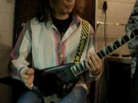 Chromatic Madness - Disfiguration guitar exercise