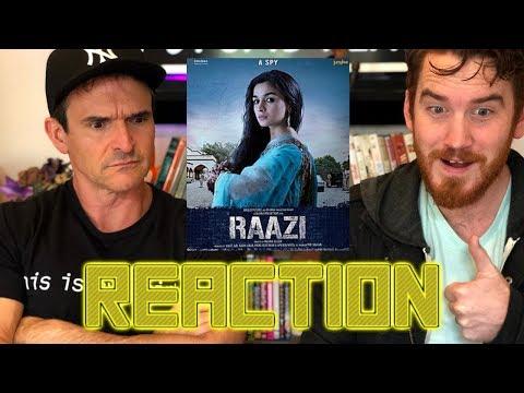 RAAZI | Alia Bhatt | Vicky Kaushal | Trailer Reaction!!! thumbnail