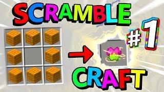 """Minecraft Scramble Craft - """"OUR ADVENTURE BEGINS!"""" - Episode 1"""
