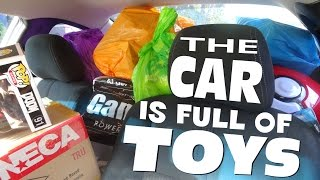 February / March HAUL !!! BIG Toy Haul - No Store Footage, just a TON of TOYS