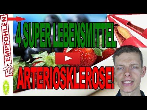 4 SUPER Lebensmittel bei Arteriosklerose! Ernährung und Gesundheit