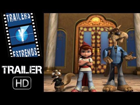 Las nuevas aventuras de Caperucita Roja - Trailer en español (HD)