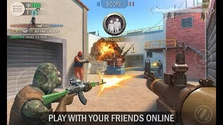 Crime Revolt -Online Shooter FIRST LOOK ANDROID GAMEPLAY