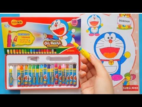 Đồ Chơi Trẻ Em Hộp Màu Doremon Tô Màu Nhân Vật Hoạt Hình Nobita - Coloring Book for Kids thumbnail