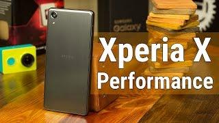 Sony Xperia X Performance - лучше поздно, чем никогда. Распаковка и беглый обзор Xperia X Performace