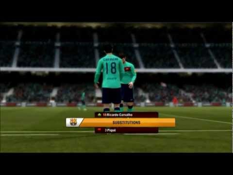 FIFA12 Real Madrid Manager Mode EP2 Cup final vs Barcelona & Start of League Season in HD