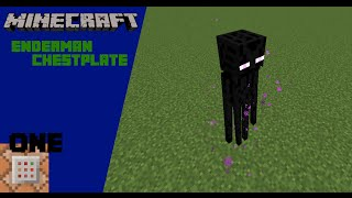 Minecraft - Enderman Chestplate with only one command | Vanilla Minecraft