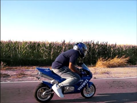 X18 Super Pocket Bike Ride Top Speed