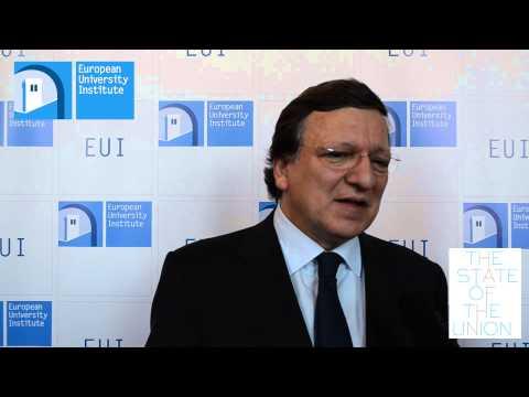 José Manuel Barroso - #SoU2013 Live Interviews