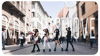 [K-POP IN PUBLIC - ITALY] BLACKPINK - KILL THIS LOVE YG CONTEST DANCE COVER ~ [SUNSET 썬셋 CREW]