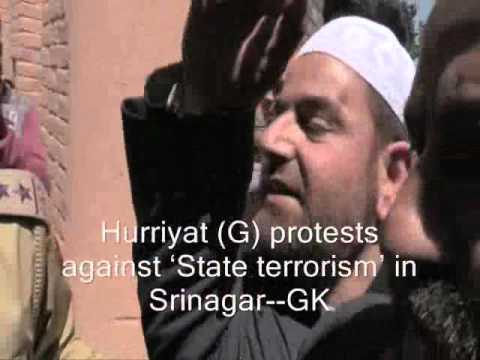 Hurriyat (G) Protests Against Kupwara Killings