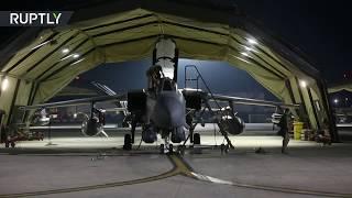 RAW: UK Tornado jets prepare for bombing raid on Syria
