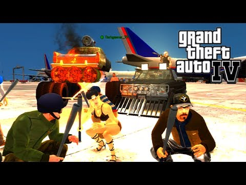 GTA IV - ps3 - NGG Event - BUSTED!/DD/Race/King of the Barge