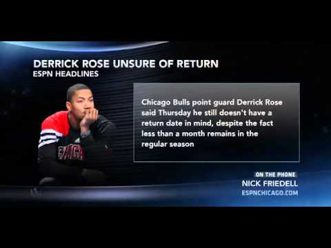 Chicago Bulls Derrick Rose Interview When He'll Return This Season