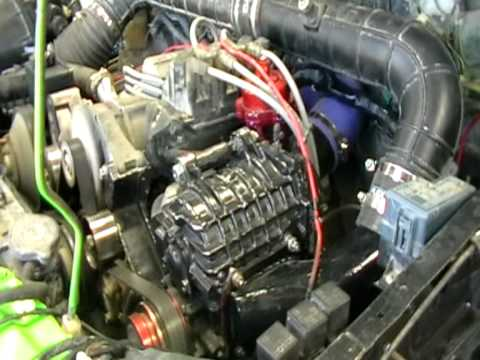 Holden Commodore Sc14 Super Charger Youtube