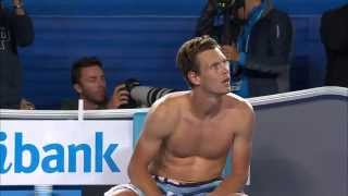 Murray and Berdych Mid-Match Spat | Australian Open 2015