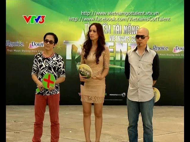 [FULL] Vietnam's Got Talent 2012 - Tập 8 Vòng Loại Sân Khấu (20/01/2013)