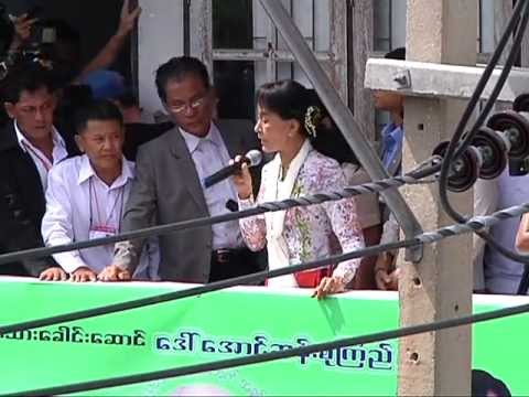 First Day of Historic Visit: Aung San Suu Kyi Chooses Migrant Workers