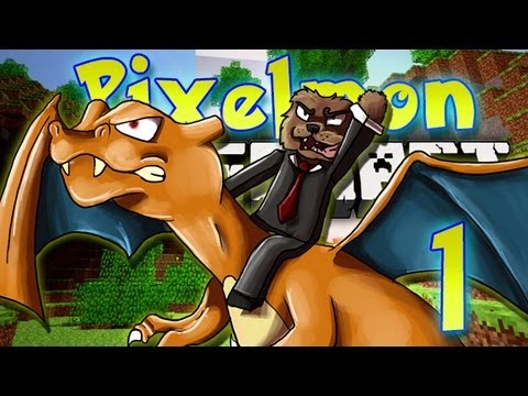 I CHOOSE YOU BULBASAUR Minecraft Pixelmon Adventure #1 w/ BajanCanadian, HuskyMudkipz, and SSundee