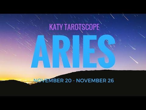ARIES YOU GOT IT GOING ON! 20th-26th November 2017 Weekly Tarot Reading   Katy Tarot