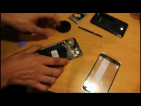Como desmontar por completo Samsung Galaxy Note (GT-N7000)