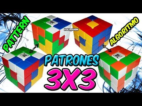 2 patrones para cubo de rubik 3x3 ( cuarta parte )