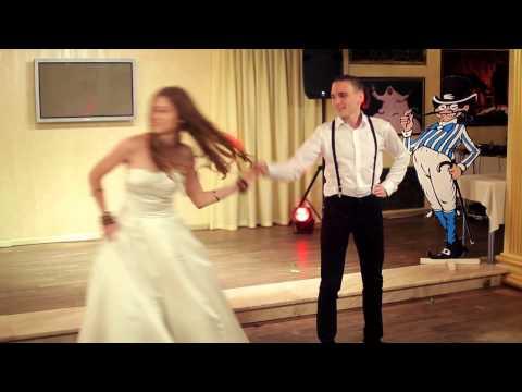 Валентина и Никита «Сельский танец или Кельтский панк» на свадьбе Flogging Molly – «Drunken Lullabies»