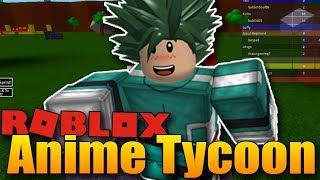 Stal jsem se mým oblíbeným Anime hrdinou! 😎😍 | ROBLOX: Anime Tycoon