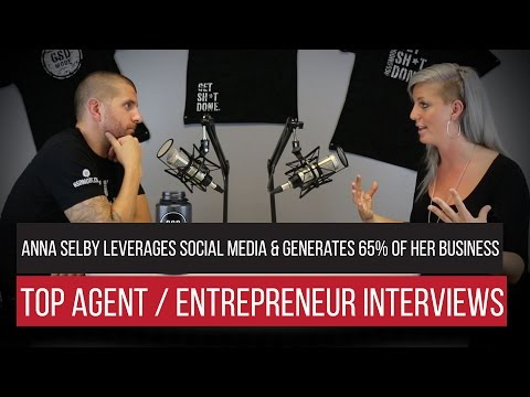 Anna Selby Leverages Social Media & Generates 65% of Her Business