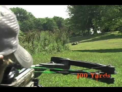 Barnett Crossbow Long Distance Shooting