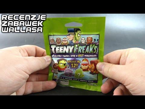 TeenyFreaks : Zamaskowane straszydła z saszetki - polska recenzja zabawki   Recenzje Wallasa