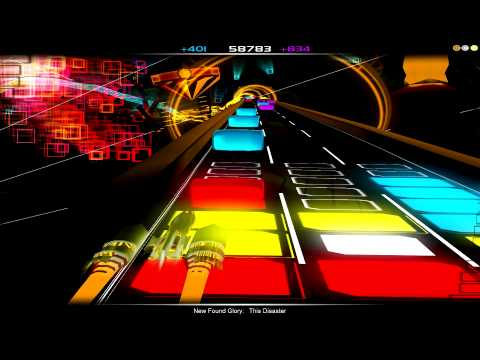 Audiosurf: New Found Glory - This Disaster