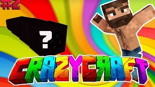 OSSURAN YARATIK? | Minecraft CRAZY CRAFT - Bölüm 2