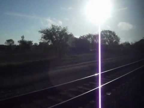 Northstar Commuter Rail from Elk River, MN, to Anoka, MN, on May 4, 2012.