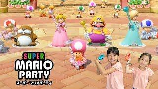 パパママまーちゃんおーちゃんパーディで大盛り上がり♡スーパーマリオパーティ♡ゲーム実況・ニンテンドースイッチhimawari-CH
