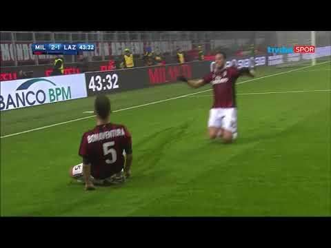 Serie A 22. Hafta I Milan 2-1 Lazio Maç Özeti