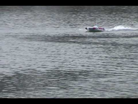 Segad High Speed Brushless Catamaran RC RTR Speed Boat! Video