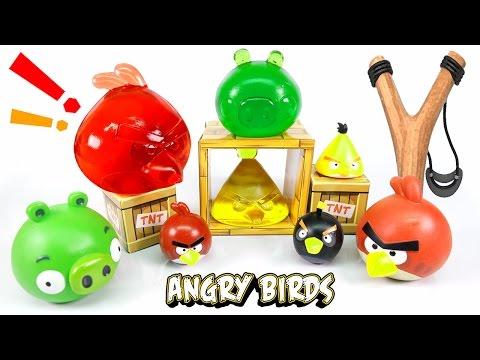 DIY Angry Birds Jelly - Edible Angry Birds Gummy !