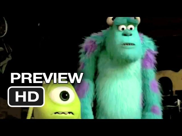Monsters University Official Preview (2013) – Pixar Prequel HD