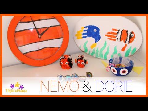 5 coole NEMO & DORIE DIYs - Bastelideen / Findet Dorie /Täglich Mama