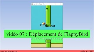video07 - FlappyBird - Déplacement de FlappyBird