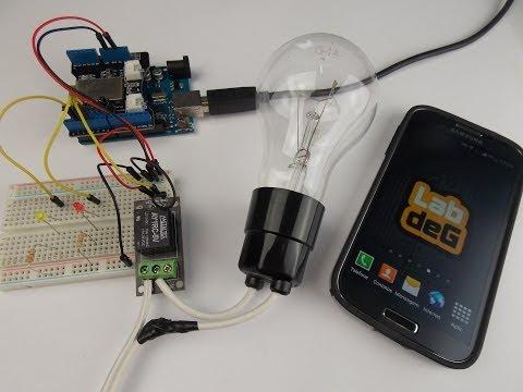 Arduino home automation controle