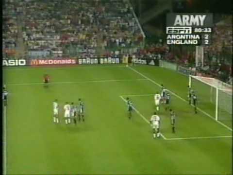1998 Argentina England 11/18