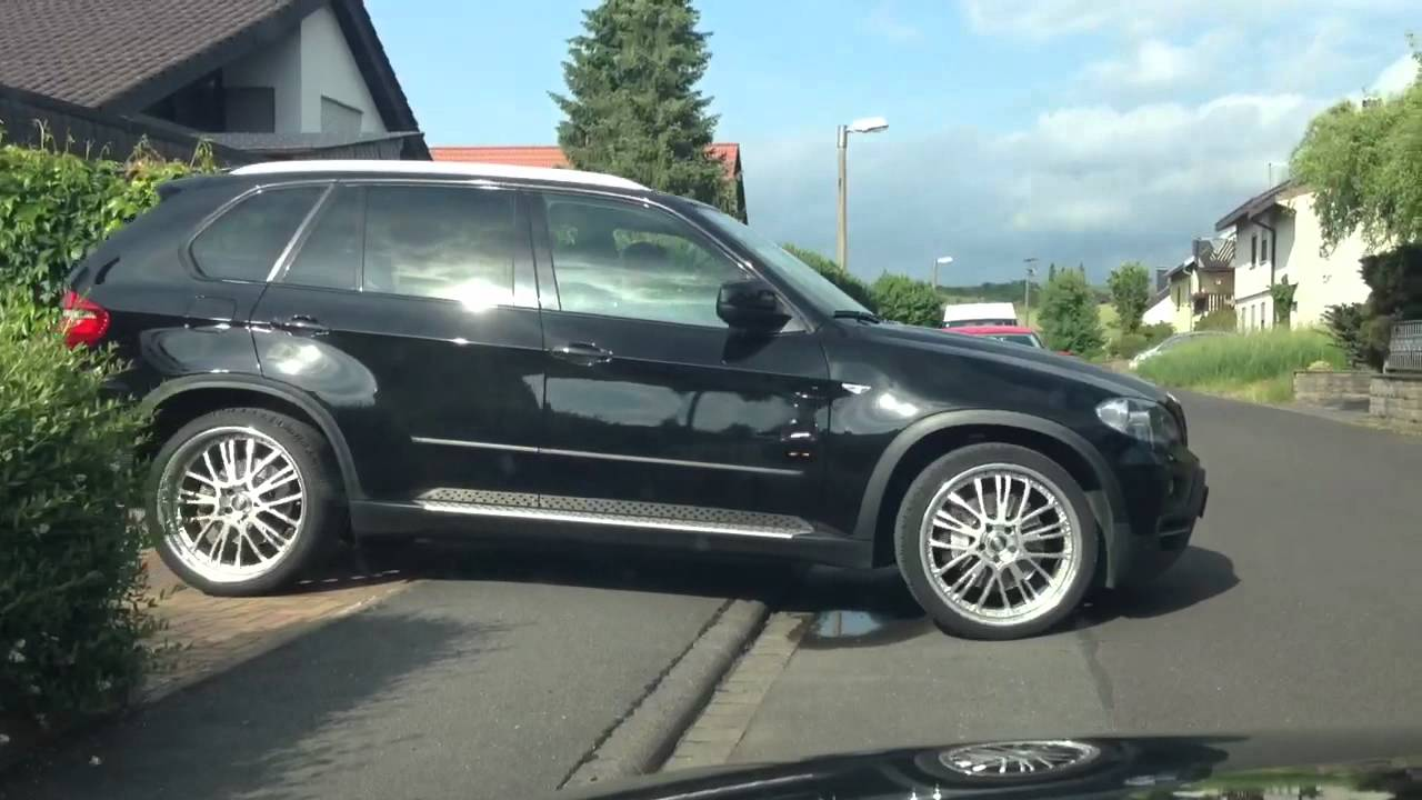 Bmw X5 E70 Rollin On 22 Inch Polished Oz Youtube