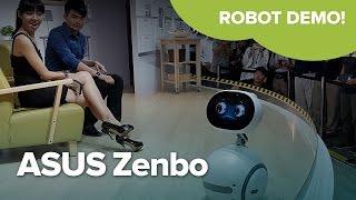 ASUS Zenbo demo at Computex 2016!