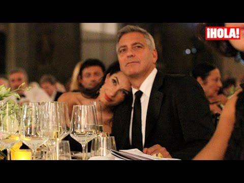 La historia de amor de George Clooney y Amal Alamuddin