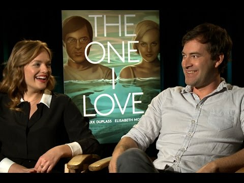 Mark Duplass and Elisabeth Moss on hiding big twist in 'The One I Love'