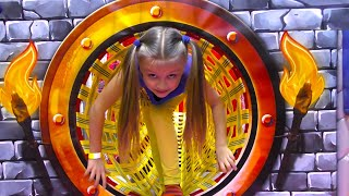 Little Vlogger & Castle with Labyrinth & Traps | Indoor Playground for Baby